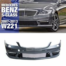 S63 S65 AMG Style Front DRL Bumper With PDC for Mercedes Benz 07-13 S Class W221