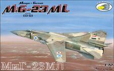 RV Aircraft 1/72 MiG-23ML Flogger plastic kit  - OOP