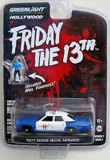 GL HOLLYWOOD SERIES 7 FRIDAY THE 13TH 1977 DODGE MONACO INCLUDES MRS. VOORHEES!
