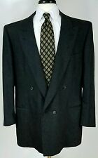Ermenegildo Zegna double breasted wool cashmere sport coat 58R Italy