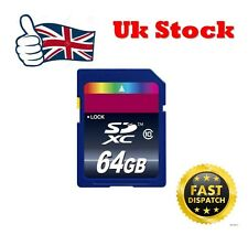 64GB SD Card Secure Digital Memory Card For Nikon Canon Camera PC