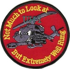 USMC UH-1 Huey Bell Helicopter Patch
