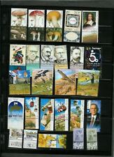 Israel 2002 MNH Tabs & Sheets Complete Year Set