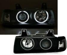 Nero CCFL Angel Eye fari proiettori BMW e36 Coupe e Cabrio typ2