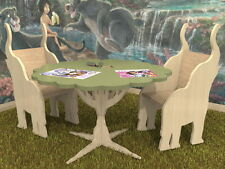 JUNGLE Kids Boys & Girls Table & Chairs Plans Pattern CNC Laser ScrollSaw DIY