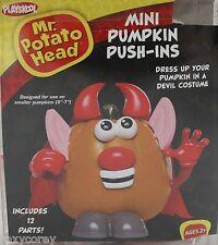 Halloween Mr Potato Head Mini Pumpkin Push In Devil Costume 12 Parts NIB