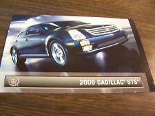 2006 CADILLAC - STS  - DEALERSHIP POST CARDS - MINT
