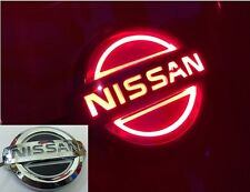 5D LED Car Tail Logo Red Light for Nissan Geniss X-Trail Tiida Auto Badge Light