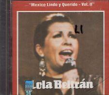Lola Beltran Mexico Lindo y Querido Vol 2   CD New Sealed