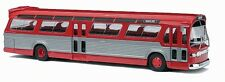 HO 1/87 Busch # 44501 GMC TDH-5301 Bus Fishbowl - Red