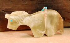 Zuni Green Onyx Horse Fetish by Bernard Laiwakete *SIGNED* New