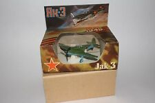 Russian Military JAK-3 Airplane with Original Box, Diecast Metal