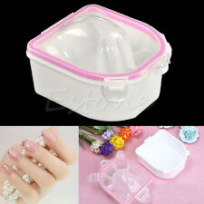 Manicure Soak Bowl Finger Nail Art Tips Soaker Treatment Remover Spa Wash Tool