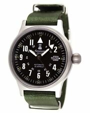 Aeromatic 1912 Retro-Design Flieger Automatikuhr A1336