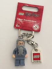 *NEW* Lego Harry Potter ALBUS DUMBLEDORE Key Chain 852979