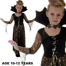 Mädchen SPIDERELLA Vampirin Halloween Kostüm Alter jahre V00 159