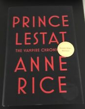 "ANNE RICE Signed 1st Edition: ""Prince Lestat: The Vampire Chronicles"" PSA DNA"