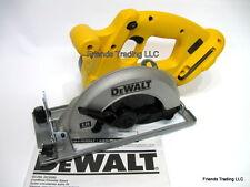 DeWALT 18 Volt 18V Standard Battery Base Cordless Circular Saw DCS392 NEW