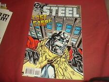 STEEL #10   Death Of Superman spin-off     DC Comics 1994 -  NM