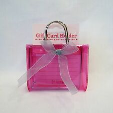 "Gift Card Holder, Money Holder, Gift Box ""Pink Purse"""