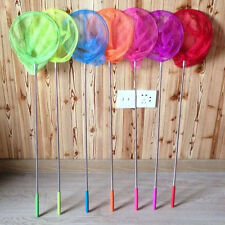 Kids Extendable Fishing Butterfly Insect Net  Adjustable Telescopic Handle Toy