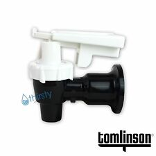 Tomlinson Water Cooler Faucet Spigot Dispenser Valve White Safety Lock Sunbeam