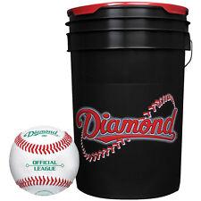Diamond Dbx Official League Duracover Baseballs & Bucket 30 Ball Pack W/Bucket