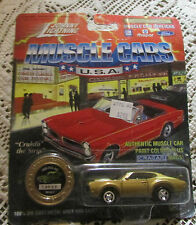 Johnny lightning diecast car limited edition 1969 OLD'S 442 series 2 # 14050
