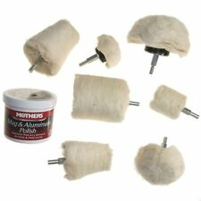 8 pc Drill POLISHER POLISH BUFFER KIT Mag Wheel MOTHERS