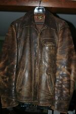 1940's Men's  Brown Horsehide Jacket - Size  42