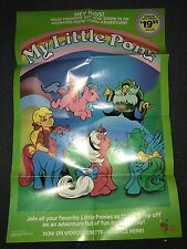VINTAGE MY LITTLE PONY •MOVIE POSTER••MINT•