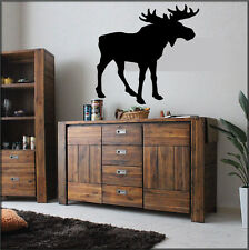 Moose Wall Home Decal Sticker Wall Decor Country Living Animal Art