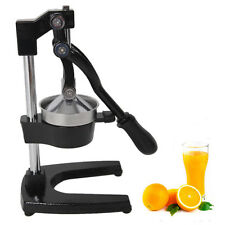 New Orange Hand Press Commercial Manual Citrus Fruit Lemon Juicer Juice Squeezer