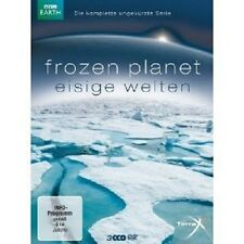 FROZEN PLANET - EISIGE WELTEN 3 DVD NEU