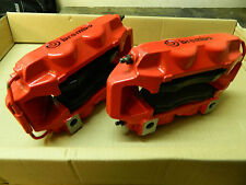 Renault Clio Cup 197 200 RenaultSport Brembo Front Brake Calipers Red N/S + O/S