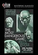 The Most Dangerous Game (the Film Detective Restored Version)  DVD NEW