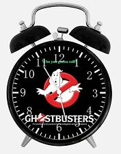 "Ghostbusters Alarm Desk Clock 3.75"" Room Decor X47 Nice for Gifts Wake Up"