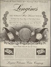 1956 Vintage ad for Longines-Wittnauer Watch Company`Watches (102515)