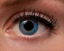 Fresh Colored Contact Lenses True Sapphire Coloured FREE Contacts Lens CASE