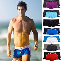 Men's Swimwear Sexy Boxers Swimming Trunks Swim Shorts Beachwear Briefs Bottom