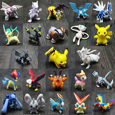 144Pcs Pokemon Mini Action Figure Toys Small Cartoon Anime Pocket Monster Gifts