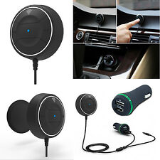 Bluetooth 4.0 Music Receiver 3.5mm Adapter Handsfree Car AUX Speaker for phones