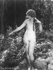 Albert Arthur Allen Photo, Female Figure in woods, 1920s