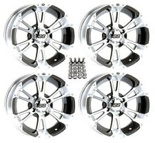 "ITP SS112 ATV Wheels/Rims Machined 12"" Honda Foreman Rancher SRA"