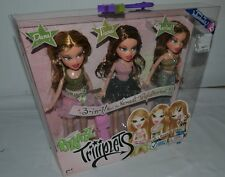 BRATZ lot WORLD TRIPLETS DANA TIANA MARIBEL sisters NEW sealed