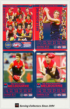 2009 AFL Teamcoach Trading Card Base Team set Melbourne (11)