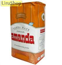 Y80 yerba mate Amanda naranja (orange) 500g avec tiges