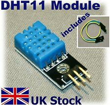DHT11 Digital Humidity Temperature Sensor Module Arduino PI Atmel PIC - UK Stock