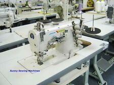 Jack JK-8569 Flat Bed Coverstitch Sewing Machine w/ Servo Motor