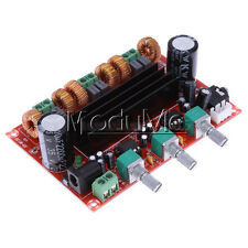 New TPA3116D2 50Wx2+100W 2.1 Channel Digital Subwoofer Power Amplifier Board ME